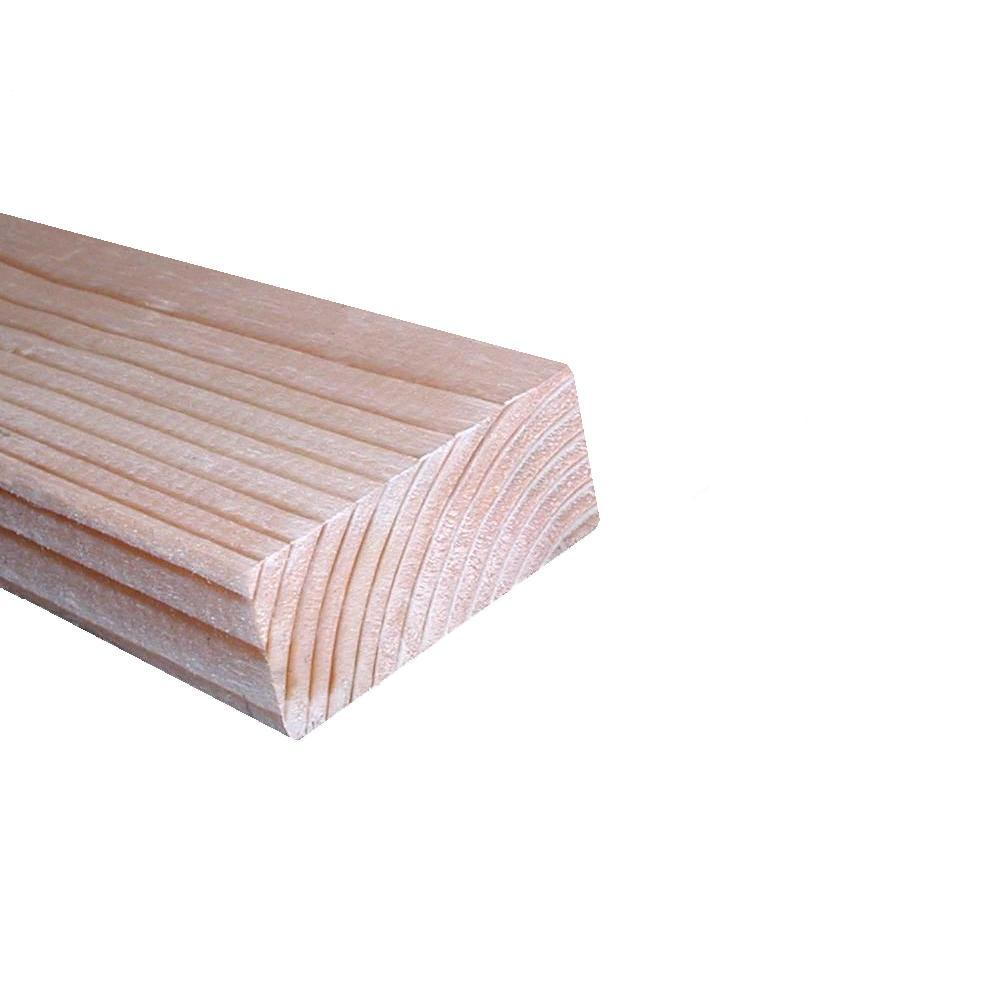 2 in. x 4 in. x 92-5/8 in. Premium Kiln Dried Douglas Fir Stud
