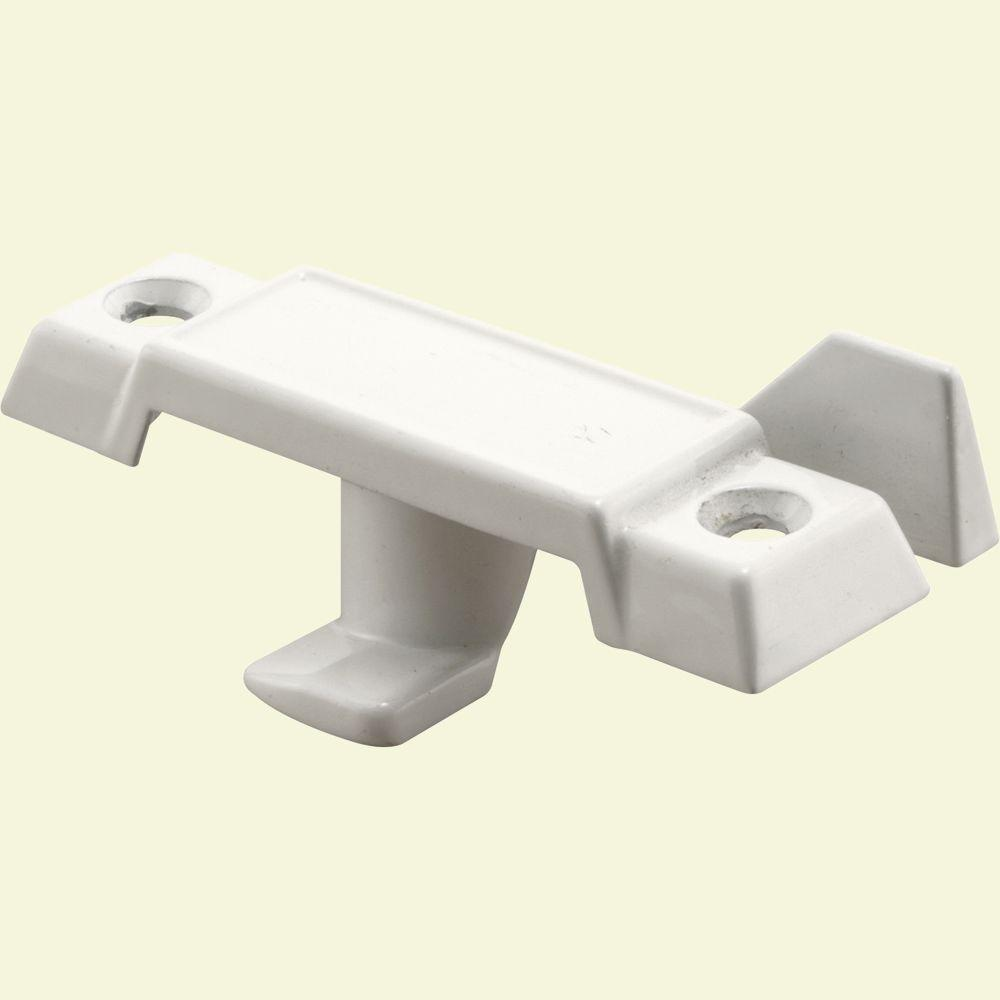 7/8 in. White Drop Cam Standard Tongue Window Sash Lock