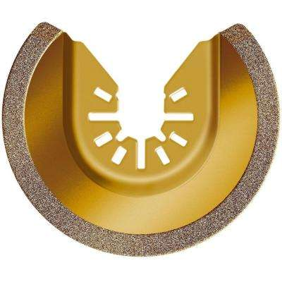 3-1/8 in. Universal Fit Carbide Grit Semicircle Blade