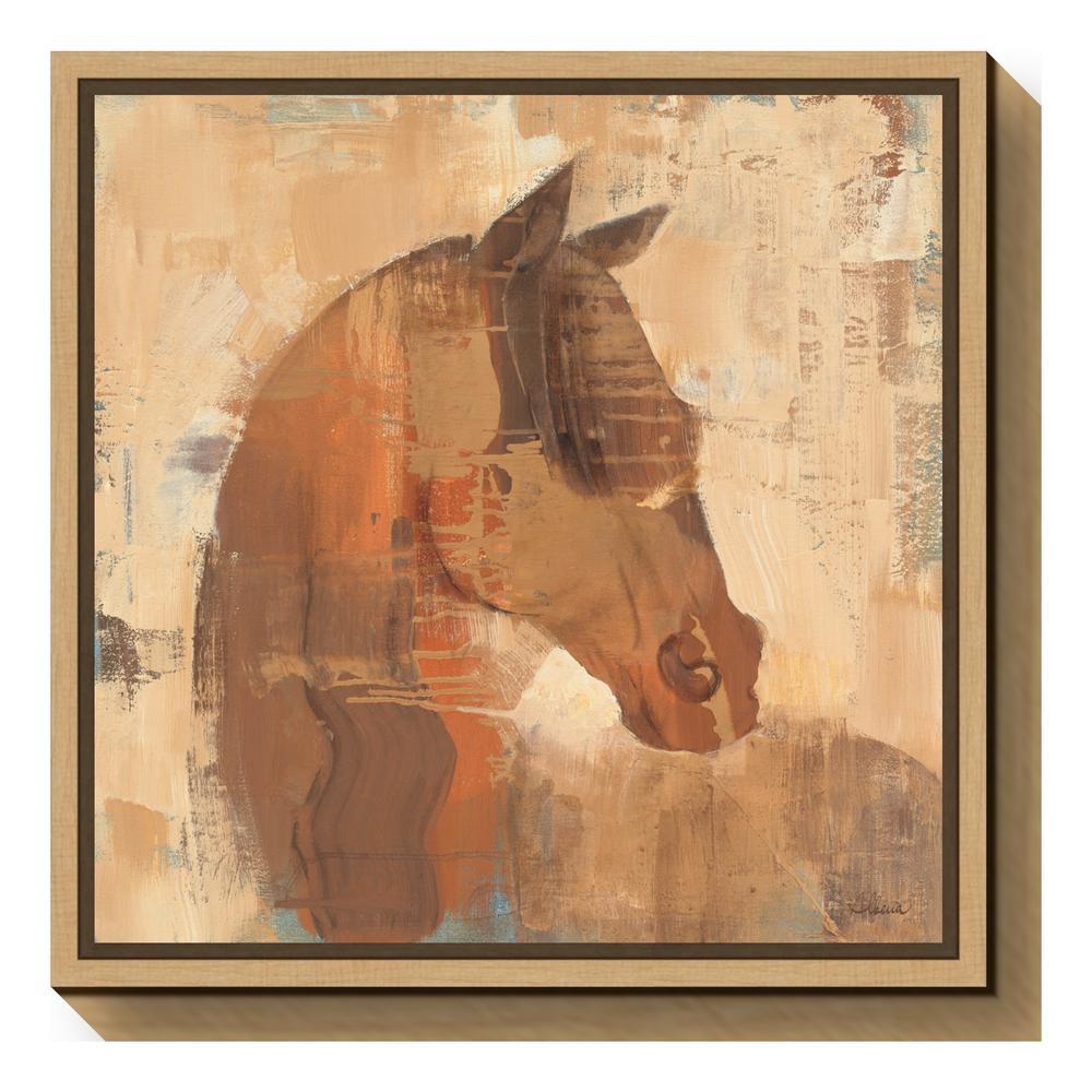 """Spirit"" by Albena Hristova Framed Canvas Wall Art"