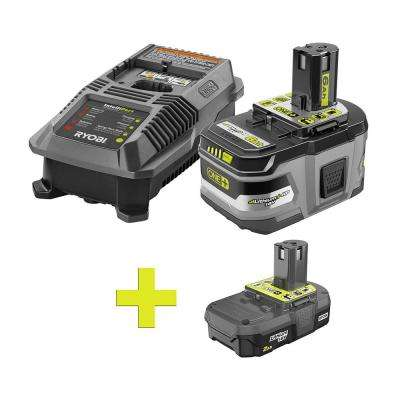 18-Volt ONE+ Lithium-Ion LITHIUM+ HP 6.0 Ah Starter Kit w/ Bonus ONE+ 2.0 Ah Lithium-Ion Compact Battery