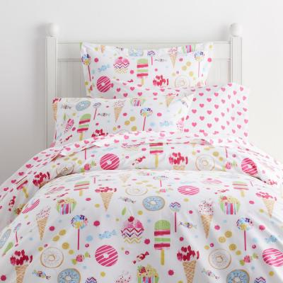 Sweet Treats 200-Thread Count Cotton Percale Duvet Cover