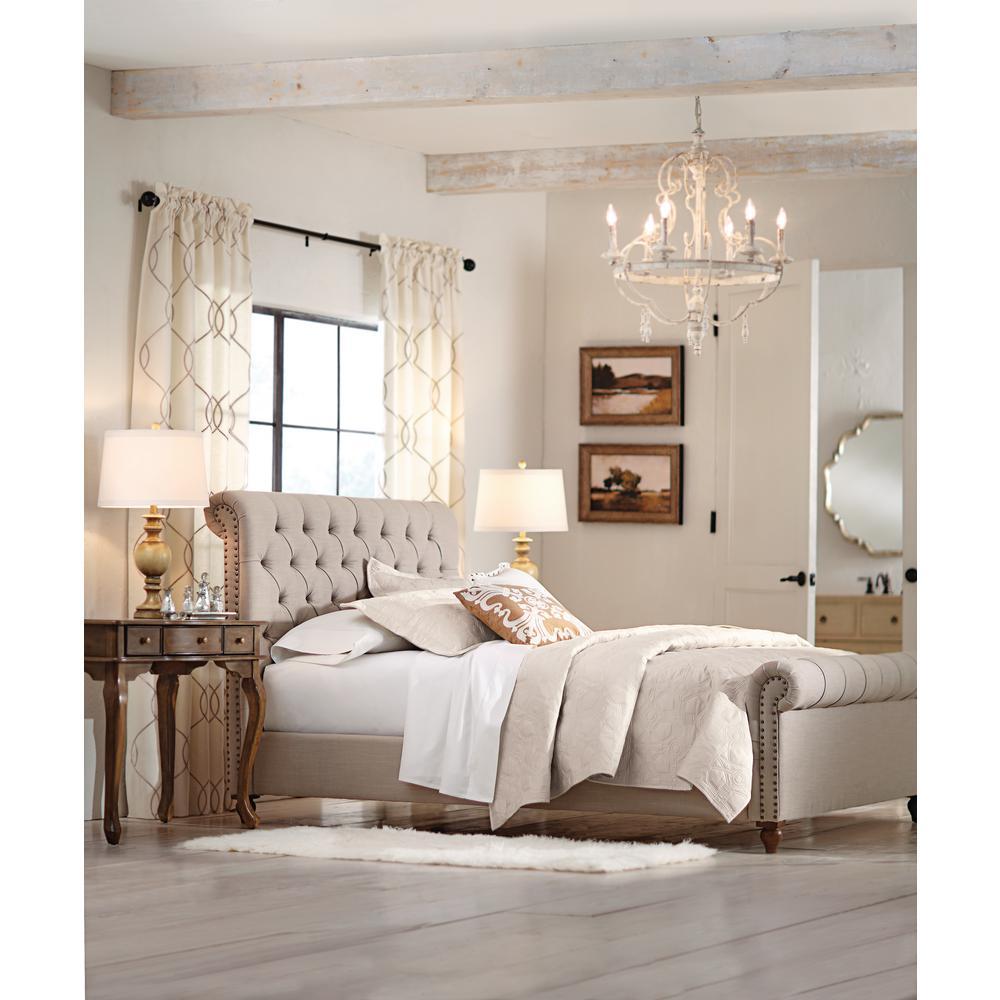 internet 205342537 6 home decorators collection gordon natural queen sleigh bed