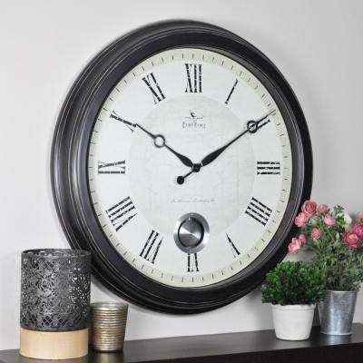 24 in. Round Adair Wall Clock