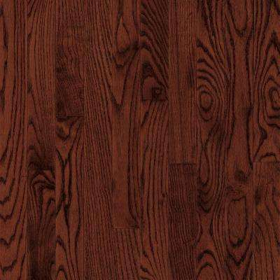 Bayport Oak Cherry 3/4 in. Thick x 2-1/4 in. Wide x Varying Length Solid Hardwood Flooring (20 sq. ft. / case)