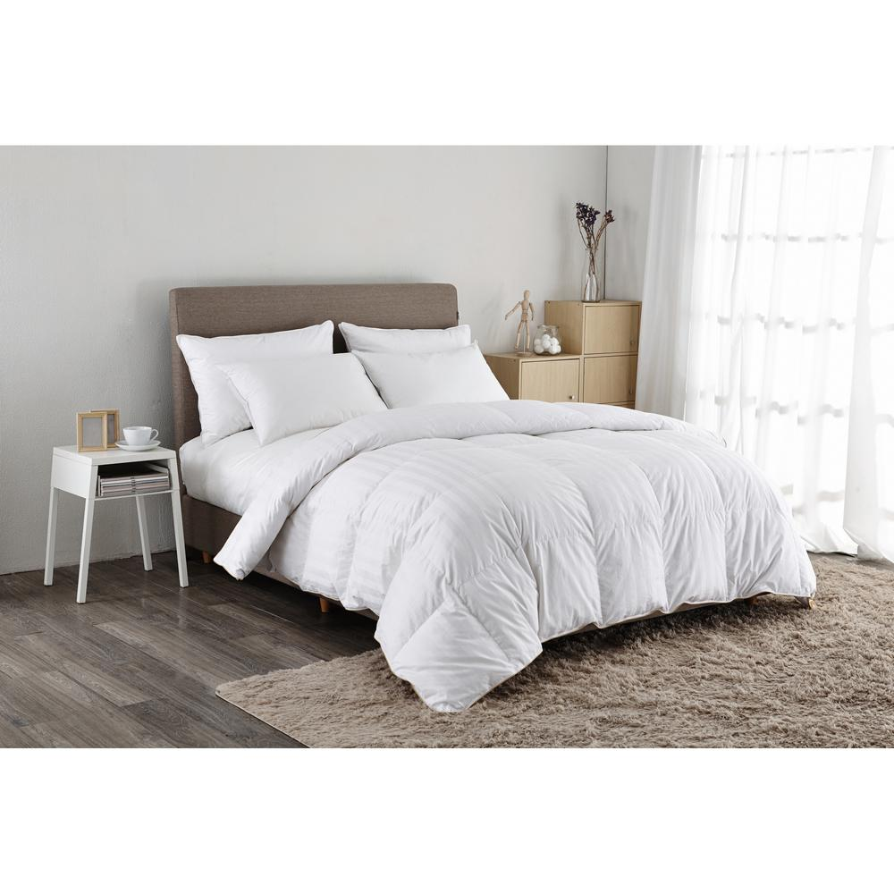 Puredown 500 Thread Count White Goose Down Comforter Twin in  White-PD-GC15003-T - The Home Depot f1a6291b2