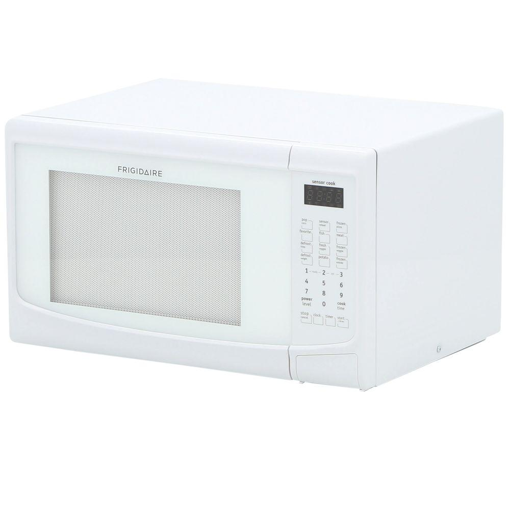 Frigidaire 1 4 Cu Ft Countertop Microwave In White