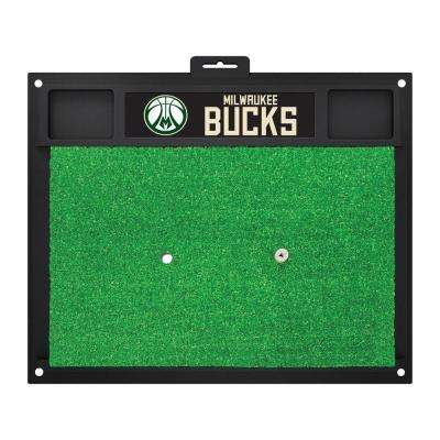 NBA - Milwaukee Bucks 20 in. x 17 in. Golf Hitting Mat
