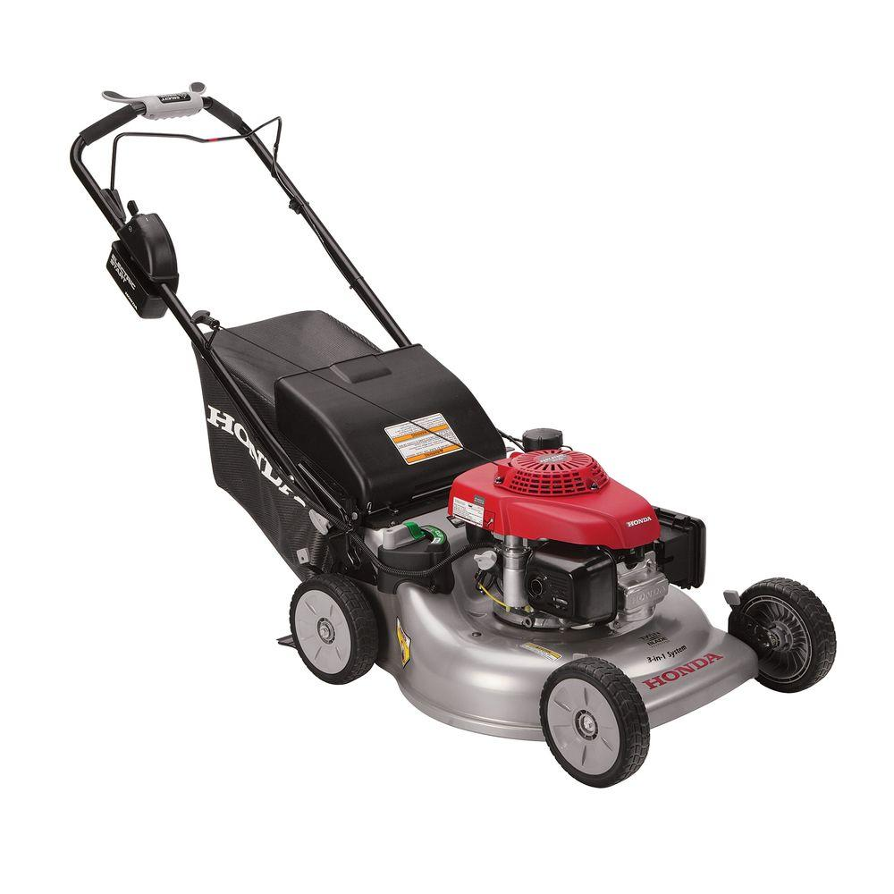 Honda 21 in. Steel Deck Electric Start Gas Self Propelled Mower with Clip Director