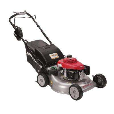 21 in. Steel Deck Electric Start Gas Self Propelled Mower with Clip Director