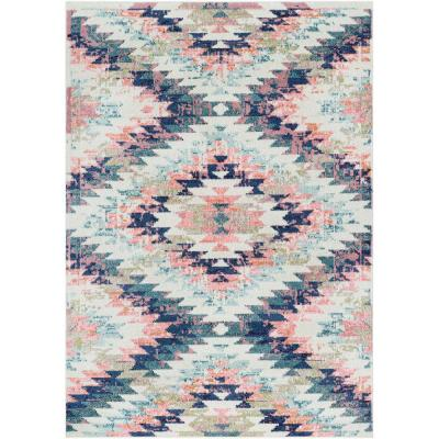 Ariane White 3 ft. 11 in. x 5 ft. 7 in. Area Rug