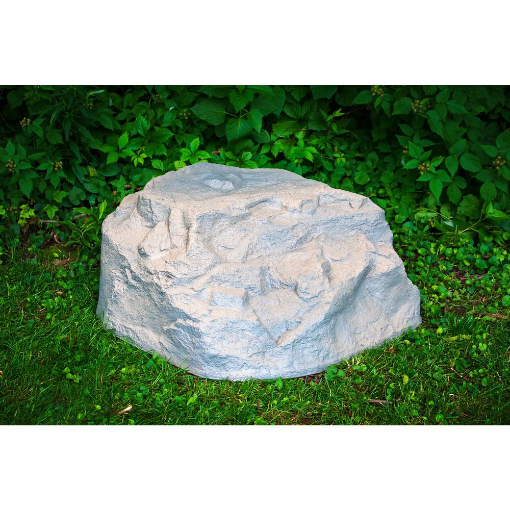 Large Resin Landscape Rocks in Deluxe Natural Textured Finish - Emsco Extra-Large Resin Landscape Rock-2280-1 - The Home Depot