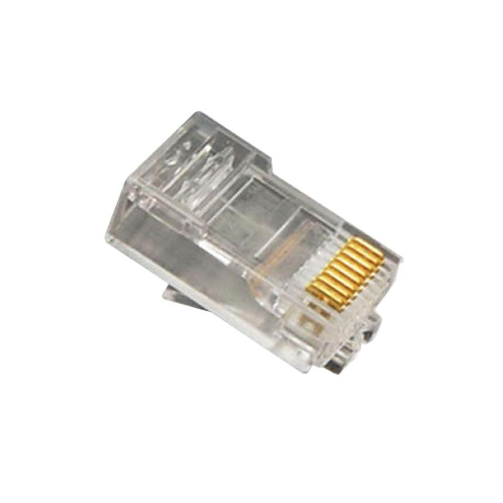 ICC Oval Entry Plug The ICC-ICMP8P8SRD is an ICC modular plug. This product is compatible with most telephone handsets. With this unit, the consumer is able to repair or construct cables for use with telephone jacks.
