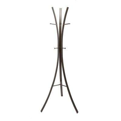 Archer Tripod Gunmetal Gray Coat Rack