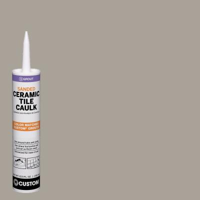 Polyblend #543 Driftwood 10.5 oz. Sanded Ceramic Tile Caulk