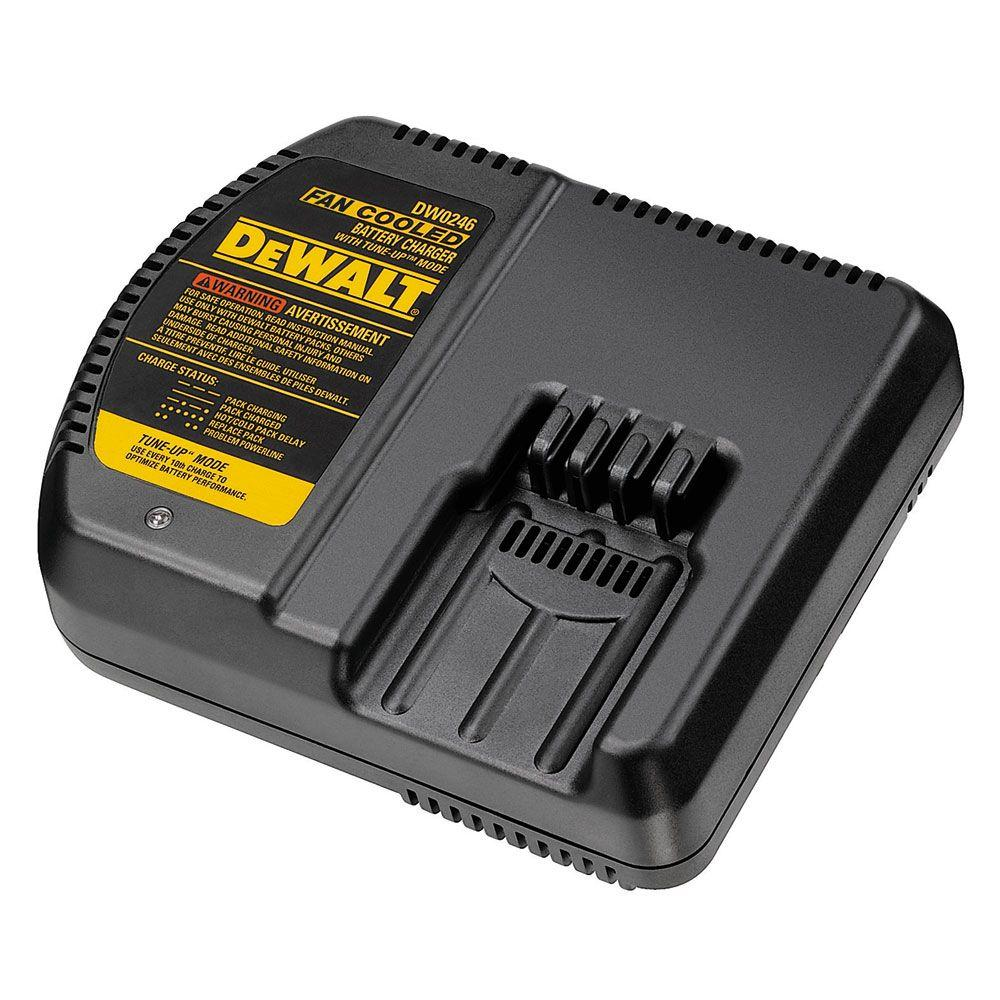 DEWALT 24.0-Volt Fan Cooled 1 Hour Charger with Automatic Tune-Up Mode