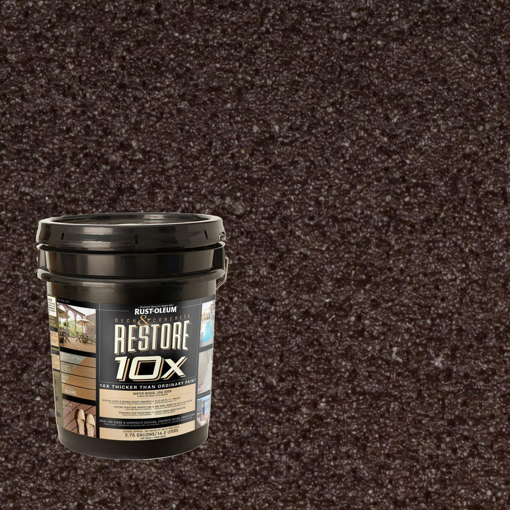 Rust-Oleum Restore 4-gal. Teak Deck and Concrete 10X Resurfacer
