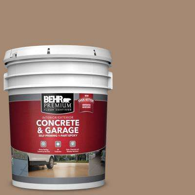 5 gal. #PFC-19 Pyramid Self-Priming 1-Part Epoxy Satin Interior/Exterior Concrete and Garage Floor Paint