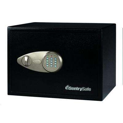 Security Safe 1.2 cu. ft. Electronic Lock with Override Key Safe