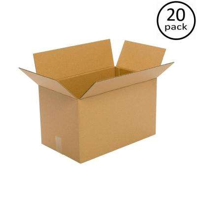20 in. x 16 in. x 14 in. 20 Moving Box Bundle