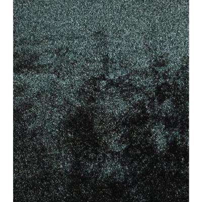 Fuzzy 5 ft x 7 ft Soft Hand Tufted Shaggy Area Rug. 100% Polyester.