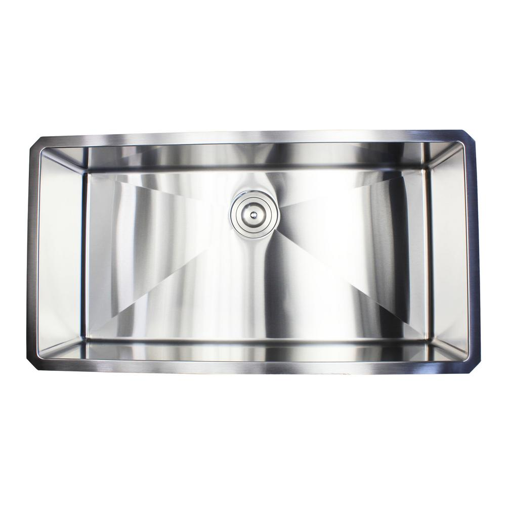 Emoderndecor 36 In X 19 10 16 Gauge Stainless