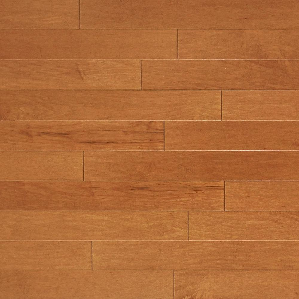 Heritage Mill Take Home Sample Vintage Maple Toasted Engineered Click Hardwood Flooring 5 In. X 7 In.