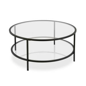 Hudson C Orwell Coffee Table In Blackened Bronze With