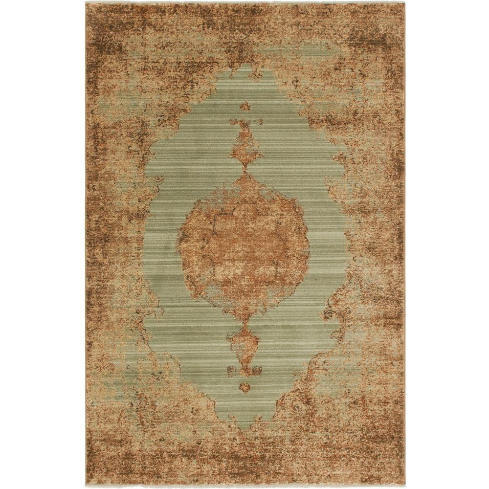 Graham And Green Emperor Rug: Unique Loom Light Green 5 Ft. X 8 Ft. Graham Rug-3144442