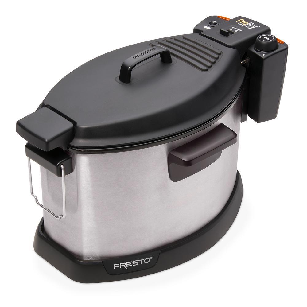 Pro-Fry Electric Rotisserie Turkey Fryer