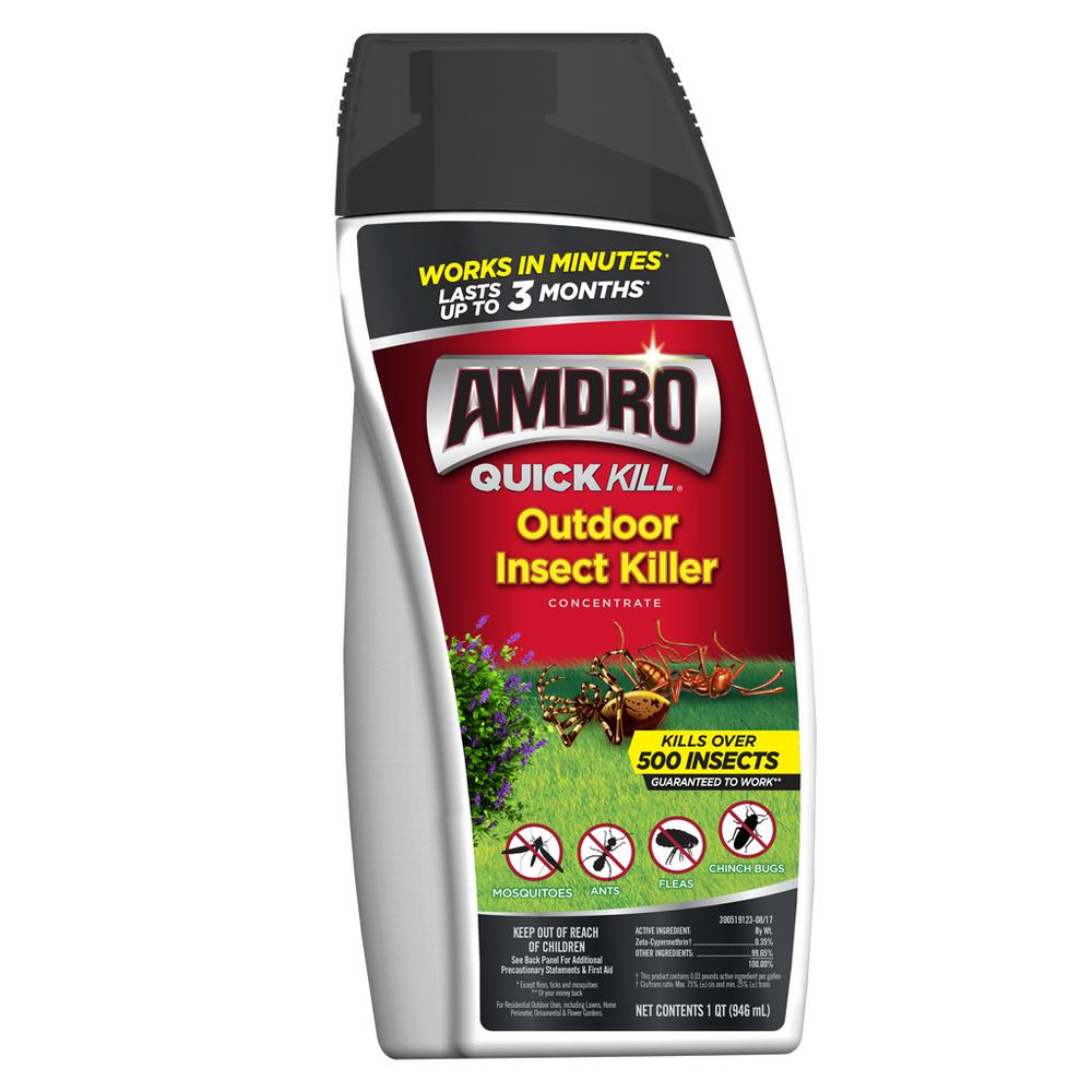 Amdro Quick Kill 32 oz. Outdoor Insect Killer Concentrate