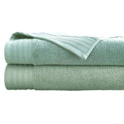 Oversized Quick Dry Bath Sheets in Jade (2-Pack)