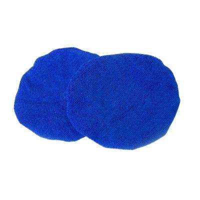 7 in. Microfiber Polishing Bonnets (2-Pack)