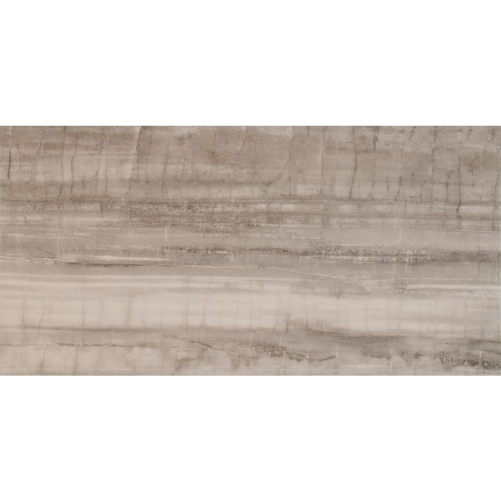 Msi Fossil Bamboo 17 In X 34 In Glazed Porcelain Floor And Wall