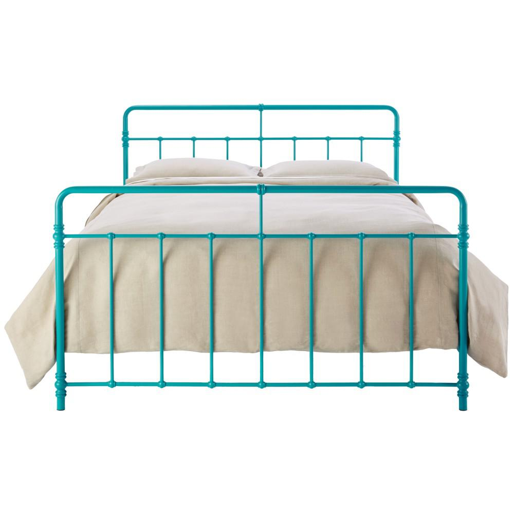 Home Decorators Collection Pennington Turquoise King Bed Frame