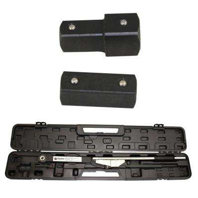 3/4 in. and 1 in. Drive Break-Back Style Torque Wrench Kit