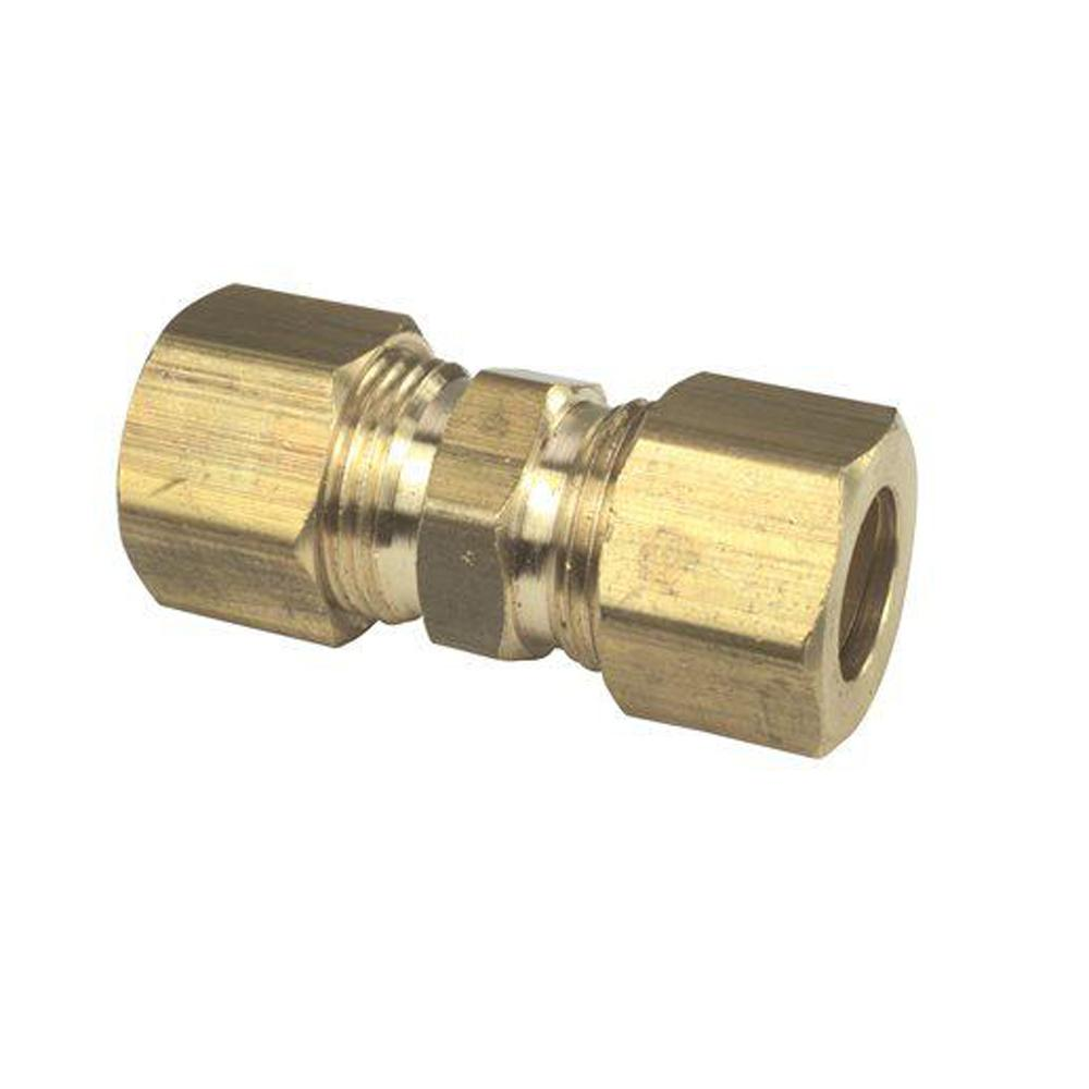 3/8 in. x 1/4 in. Brass Reducing Union Lead Free