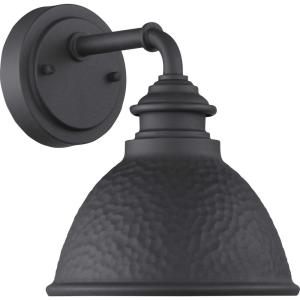 Englewood Collection 1-Light Black Wall Lantern Sconce
