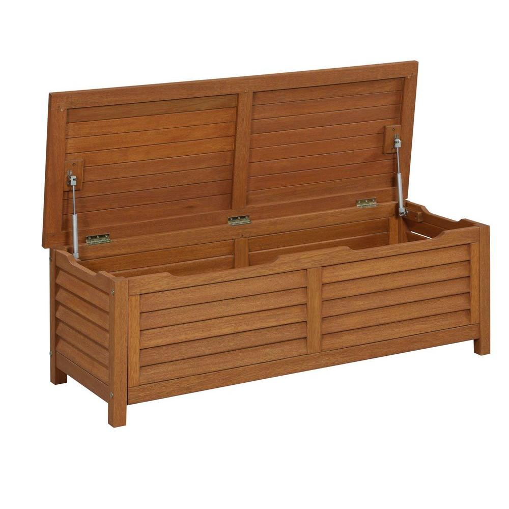 Montego Bay Patio Deck Box, Eucalyptus