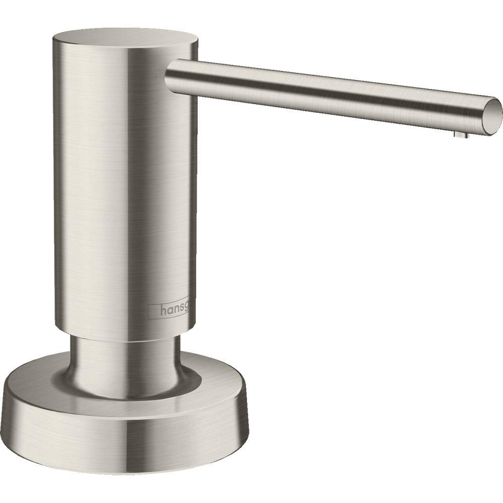 Talis Deck Mount Soap Dispenser in Steel Optic