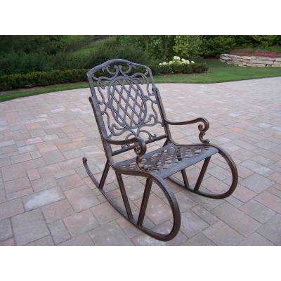 Superbe Mississippi Aluminum Outdoor Rocking Chair