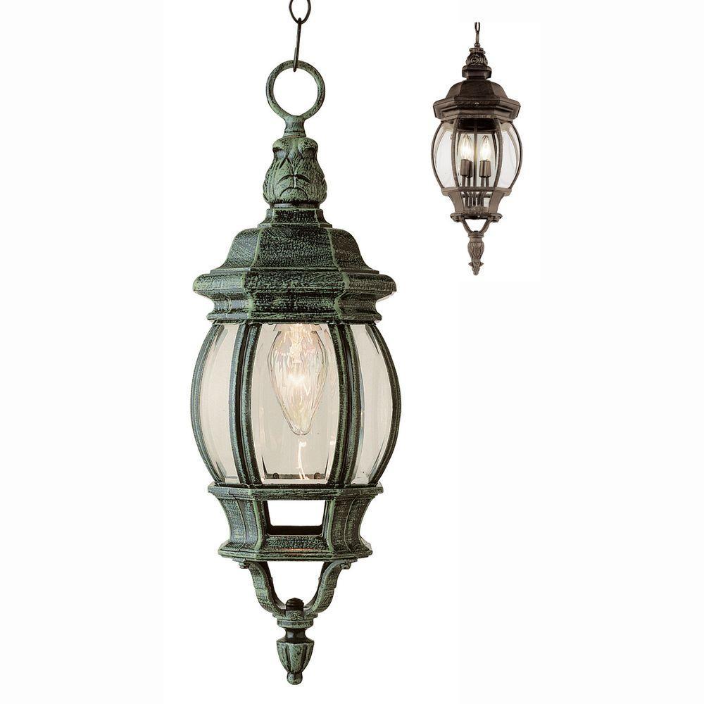 Parsons Rust 1-Light Hanging Lantern