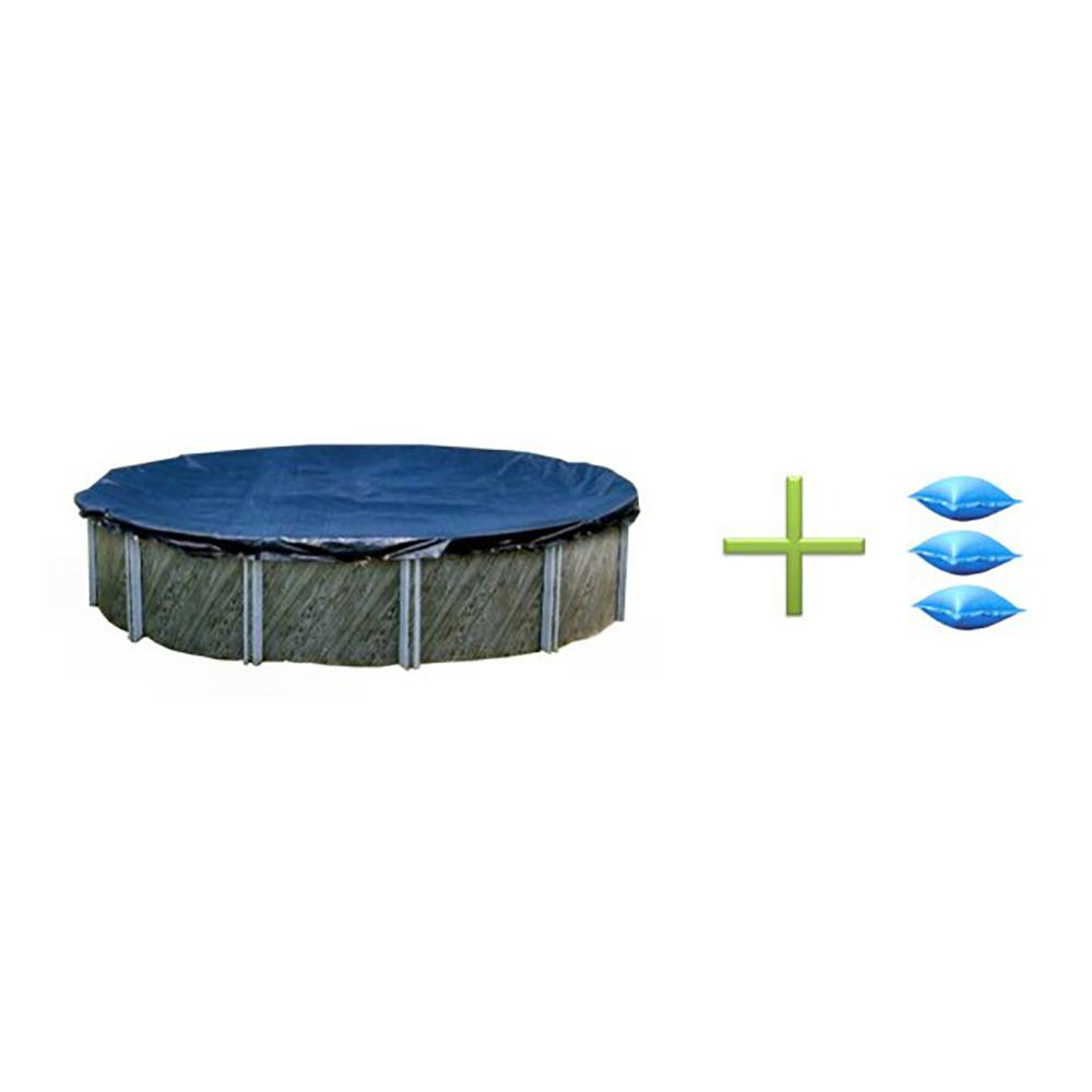 Ft Round Swimming Pool Winter Cover