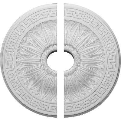 20 in. O.D. x 3-1/2 in. I.D. x 1-3/8 in. P Randee Ceiling Medallion (2-Piece)