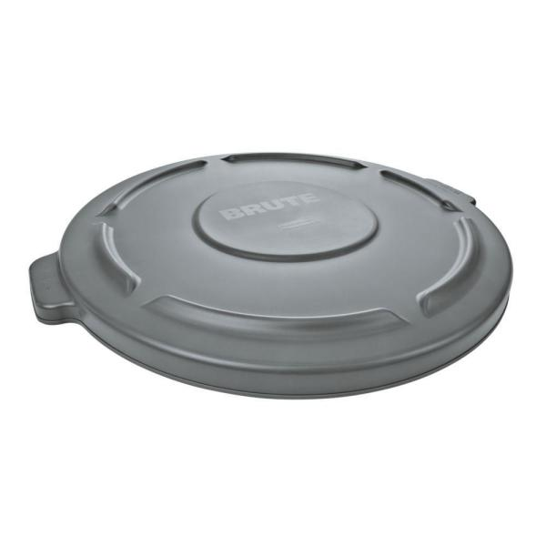 Lid Only - Brute 44 Gal. Grey Round Vented Trash Can