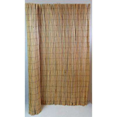 78 in. H x 96 in. W Peeled Willow Screen Fence