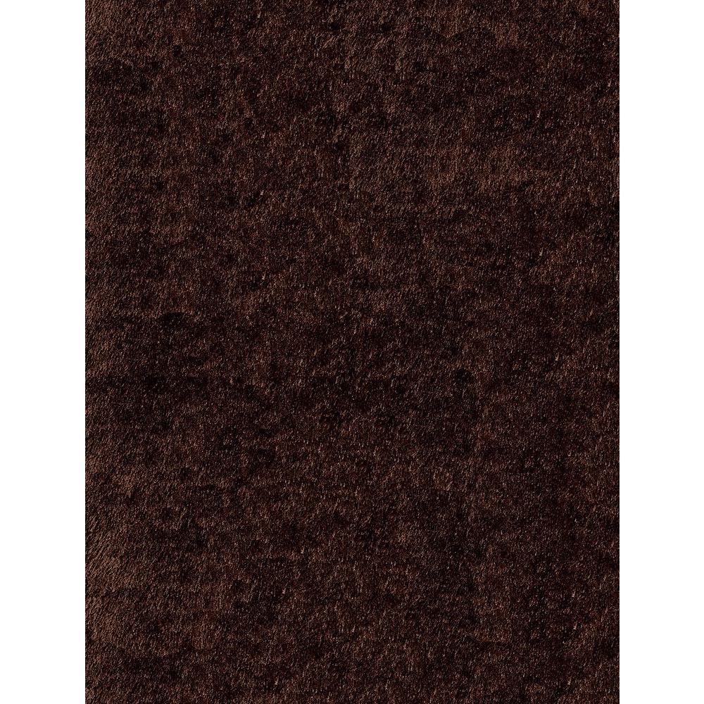 Luster Shag Brown 8 ft. x 10 ft. Indoor Area Rug