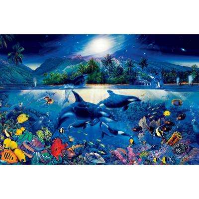 45 in. x 69 in. Majestic Kingdom Wall Mural
