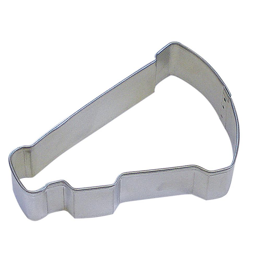 3315ab089fbb CybrTrayd 12-Piece 3.5 in. Megaphone Tinplated Steel Cookie Cutter and  Recipe