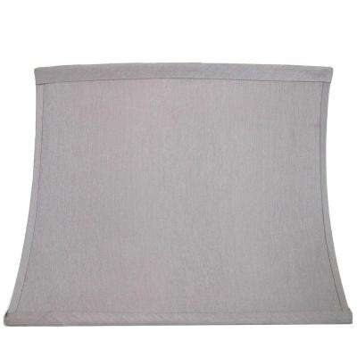 Mix & Match Bavarian Grey Rectangle Bell Table Lamp Shade